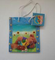 Geschenktüten für Kinder Teddybär NEU