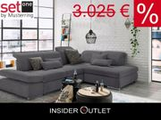 Ecksofa set one by Musterring