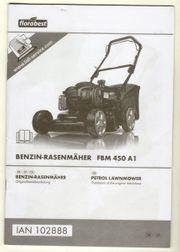 Benzin-Rasenmäher