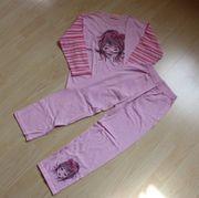 Mädchen Schlafanzug Kinder Pyjama Set
