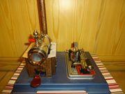 Alte Dampfmaschine Wilesco D10