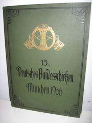 Schützenverein Historisches Buch Bundesschießen in