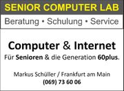 Computer Internet für Senioren - Beratung