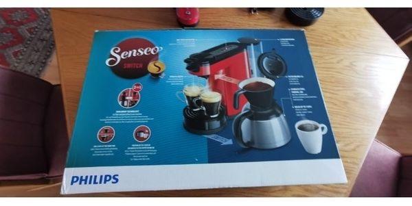 Philips Kaffeepads Brühmaschine