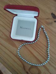 Perlenkette Majorica 50 cm lang
