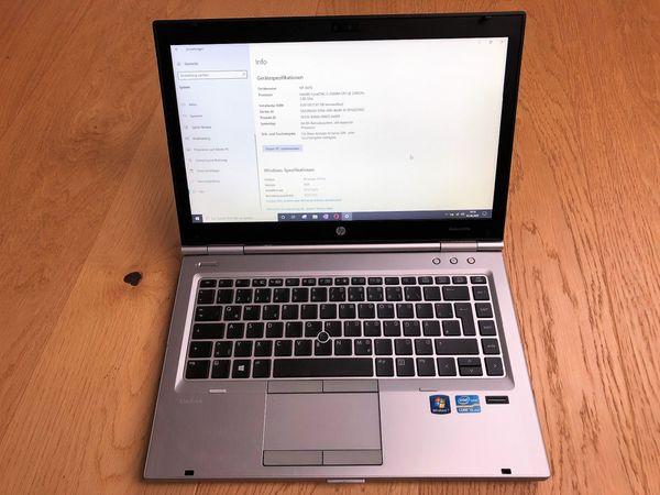 HP 8470p 8GB RAM 250