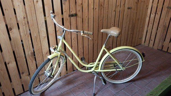 Creme Cycles Molly Damenfahrrad mit