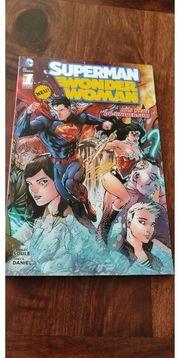 Superman Wonder Woman Comic Panini