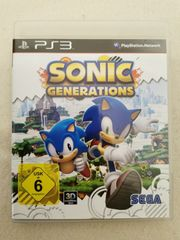 PS3 Sonic Generations Spiel