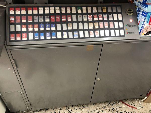 Hartung Zigarettenverkaufsautomat beidseitiges Display