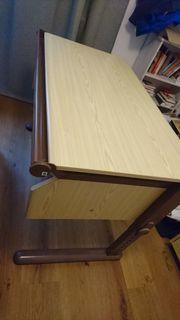 Schreibtisch mit Roll-Container