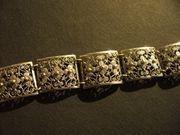 Schmuckarmband in Silber mit Punze