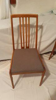 Esszimmerstühle Polsterstuhl 4 Stück Buche