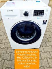 Samsung Addwash Waschmaschine 8kg 1200Umin