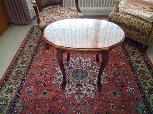 Barock - Tisch oval in Sonderanfertigung