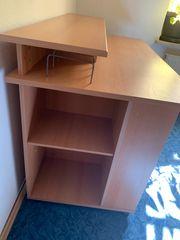 Schreibtisch Buche Furnier