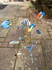 Mobile aus Fischen