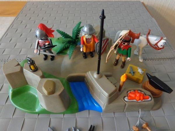 Spielzeug Playmobil Ritterschmiede Schmiede