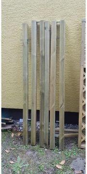 Holzpfosten Pfosten 7x7