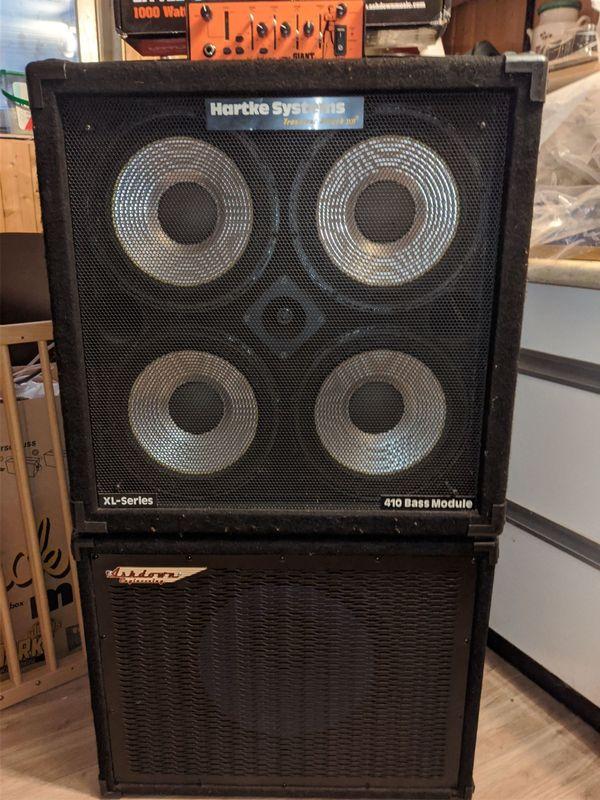Bass-Verstärker Full-Stack mit Sub Hartke