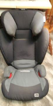Römer Kindersitz Kidifix Britax grau