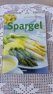 Neuwertiges modernes Kochbuch Spargel