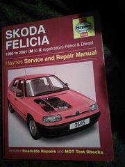 Skoda Felicia 1995-2001 Service Repair