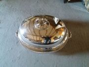 Große Silber Cloche