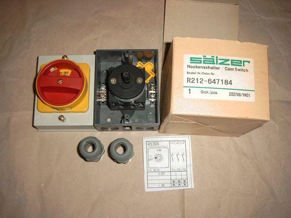 Biete Nockenschalter AP 380V max