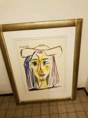 verk Picasso Bild in Rahmen
