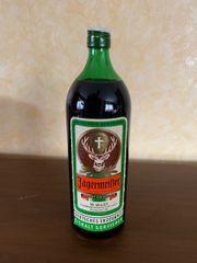 Original Jägermeister in runder Flasche