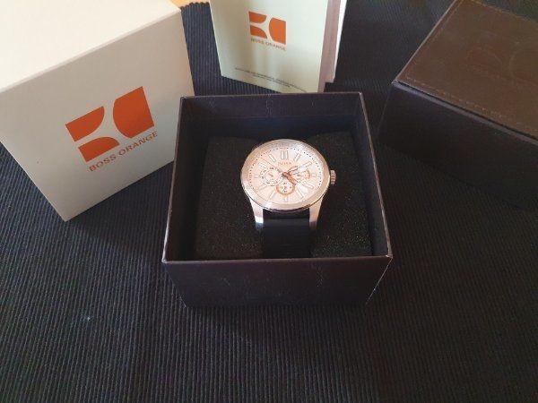 Armbanduhr Herren Boss Orange