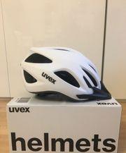 neuer UVEX Fahrradhelm Damen weiß