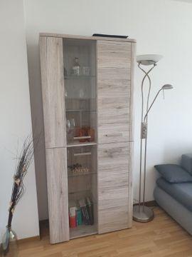 Wohnzimmerschränke, Anbauwände - Wohnwand - Sandeiche