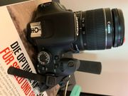 Canon 600d objective 18-55 mm -