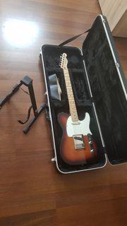 Fender E-Gitarre Mexico