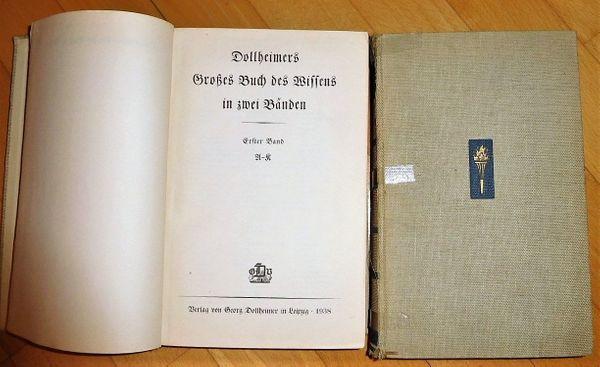 Großes Buch des Wissens 1939