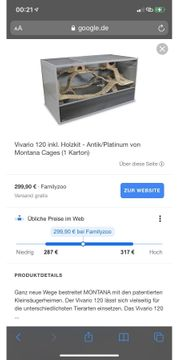 Original MontanaCages- Käfig Vivario