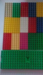 Lego Duplo unico bauplatten