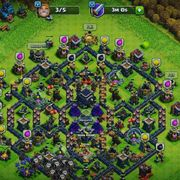 clash of clans account town9