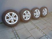 Sommerreifen auf Opel Alufelge