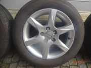 Original Audi-Felgen mit Reifen