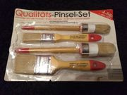 Qualitäts Malerpinselset - 4 Teilig - NEU