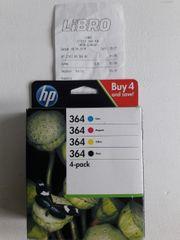 HP Druckerpatronen 364 4-pack