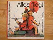 Altes Kinderbuch Alles fliegt 1967