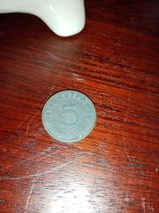 5 Pfennig Deutsches Reich vo