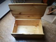 Aufbewahrungsbox Truhe Sitzbank Kiste Kiefer