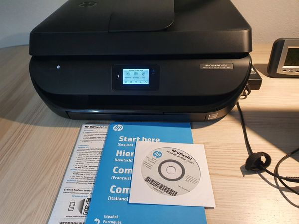 Schnäppchen: HP OfficeJet 4650 (F1H96B) 4-in-one Multifunktionsdrucker