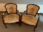 2 Gut erhaltene Sessel mit