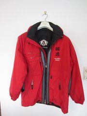 Skijacke Bogner rot Größe 48-50